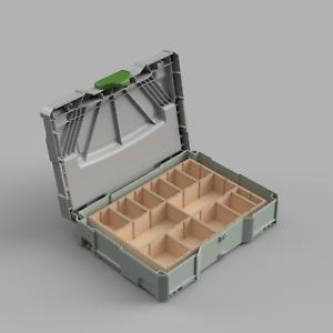 Sortiereinsatz für Systainer T Loc Festool Tanos Stier Organizer Box Werkzeug