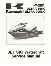 Kawasaki jet ski service manual 2011, 2012 & 2013 ULTRA 300X & ULTRA 300LX