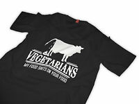 Meat eaters tshirt Vegetarians T-Shirt Funny