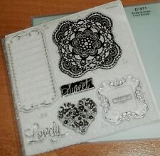 CTMH D1571 SWEET & LOVELY CRICUT BUNDLE ~ DECORATIVE, FRAME