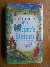Michael Jecks The Leper's Return 1st ed UK SIGNED