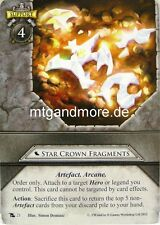 Warhammer Invasion - 2x Star Crown Fragments  #021 - Fragments of Power