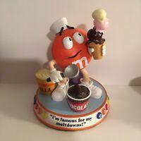 "M&M's ""Chocolate Meltdown"" Figurine Danbury Mint - Figure Sweet Treats- RARE!!"