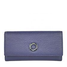 MANDARINA DUCK Mellow Leather S Purse Geldbörse Dress Blue Blau Neu