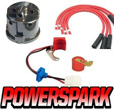 MG Midget & MGB side entry 25d cap, rotor, leads & electronic ignition kit