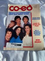 "Mar 1983 "" CO-ED "" MAGAZINE * FASHION * BEAUTY BASICS * DATE DREAMING * ADS ADS"