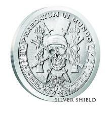 Silver Shield - Pieces of Eight - 1 oz Fine Pirate Silver Round