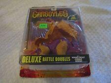 Kenner Gargoyles Lion Bronx Deluxe Battle Doubles Winged Beast Combat Armor