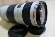 Canon EF 70-200mm f/4 L IS USM Lens in excellent+ condition from Japan