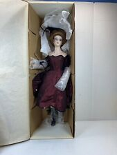 World Gallery Handcrafted Porcelain Doll The Touch of Honey Katie