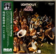 Lighthouse - Suite Feeling Remastered LP Miniature Promo CD Korea
