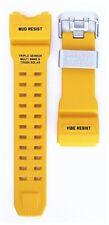 Casio G-Shock Mudmaster GWG-1000 Watch Band Strap Yellow F/S Japan New Genuine