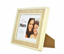 Mother Gift, Ornate Cream Table Picture Frame-5x7 For 4x4 instax Photo