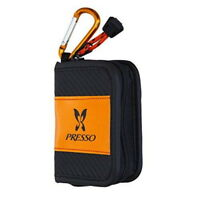Presso Wallet C DAIWA Fly Fishing Spoon Lure Case Pouch Holder Size S Orange New