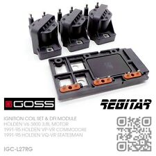 GOSS IGNITION COILS & REGITAR DFI MODULE V6 3800 3.8L [HOLDEN VP-VR COMMODORE]
