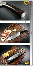 Gyuto Japanese Design Chef's Knife Meat Cutlery Slicer 7.8 inch Kitchenware