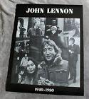 John Lennon 1940-1980 9 Pix B&W Memorial Collage Beatles Music Poster VGEX C7