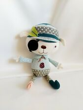 Mamas And Papas Pirate Doll Soft Toy Chime Rattle Comforter Doudou