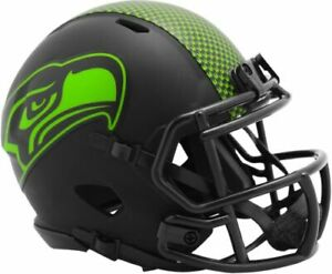 Seattle Seahawks Eclipse Alternate Riddell Speed Mini Helmet New in box