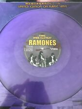 RAMONES 'GIMME SHOCK TREATMENT' LIMITED JAPAN EDITION PURPLE VINYL - BRAND NEW