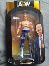AEW Cody Rhodes Figura de colección sin rival lucha libre todos Elite Wwe Wwf NXT NUEVO
