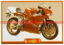 DUCATI 916 Carte Postale Moto Motorcycle Postcard (#307)