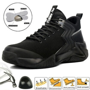 Womens Safety Shoes Steel Toe cap Boots Work Shoe Trainers Lightweight Size UK