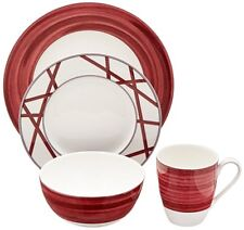 Mikasa Cadence Ruby 4-pc. Place Setting 4PPS Brand New