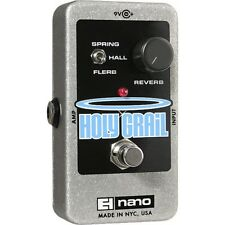 Electro Harmonix Holy Grail Nano Reverb Effects Pedal for Guitar