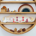 Name Puzzle Personalized Wooden Montessori Toy Baby Game Cloud Gift Birthday