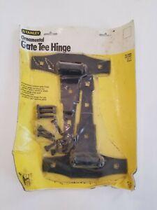"NEW Stanley Ornamental Gate 8"" Tee Hinge Set 2 Hardware 76-0840 HD USA Made NOS"