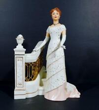 "2002 Lenox Porcelain ""Rose'S Grand Entrance"" 2-Piece Figurine ~ Titanic"