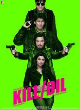 Kill Dil - DVD (Ranveer Singh, Ali Zafar, Govinda, Parineeti Chopra..) Bollywood