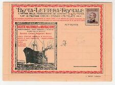 FRANCOBOLLI - 1921/23 REGNO BLP SOC. DI NAVIGAZIONE CON C. 40 I TIPO Z/7649