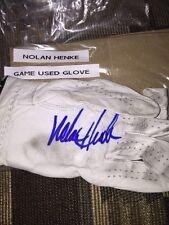 Pga Nolan Henke Autograph Game Used Golf Glove