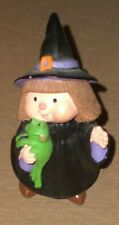 New ListingHallmark Merry Miniatures Halloween 1995 Witch with Frog