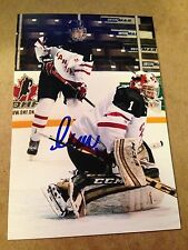 Sam Samuel Harvey SIGNED 4x6 photo ROUYN NORANDA HUSKIES #5