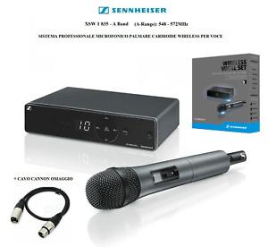 SENNHEISER XSW 1 835 A RADIOMICROFONO MICROFONO PROFESSIONALE PALMARE WIRELESS