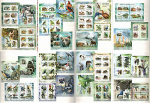 Extinct & Endangered Animals Collection 60 s/s MNH in 2 Albums CV 744€  #CL38/39