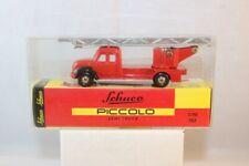 Schuco Piccolo Feuerwehr Semi Truck  neu perfect  mint in box 1:90