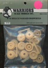 Warriors 1:35 M-18 Hellcat Damaged Roadwheels Resin Model Accessory #35198
