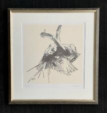 "Robert Heindel signed ""Floating Angel"" ~ Joyce Theater NY ~ dance ~ nude"