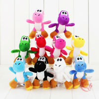 10CM Super Mario Yoshi Plush Toy Soft Stuffed Doll Car Key Ring Key Chain
