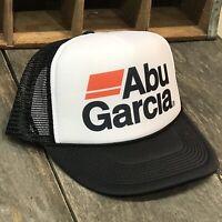 Abu Garcia Fishing Trucker Hat Vintage 80s Style Snapback!  Rod Reel Bass Trout