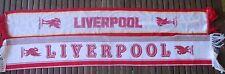 Lot 2 écharpe LIVERPOOL vintage scarf sciarpa collection football années 80