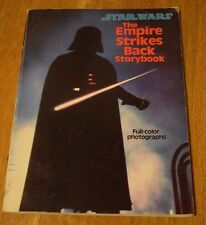 Vintage Star Wars The Empire Strikes Back Storybook 1980 First Edition Paperback