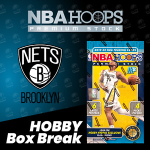 BROOKLYN NETS - 2020 Hoops NBA Premium Stock Hobby Box Live Team Break #4