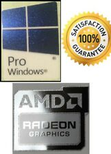 AMD RADEON GRAPHICS FREE WINDOWS PRO 10 computer sticker PC 10 Genuine 7 8 XP