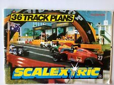 Catalogue SCALEXTRIC : 36 Track plans 1993