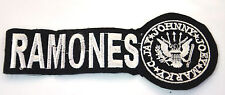 THE RAMONES JOEY DEE DEE LOGO Embroidered Sew Iron On Cloth Patch Badge APPLIQUE